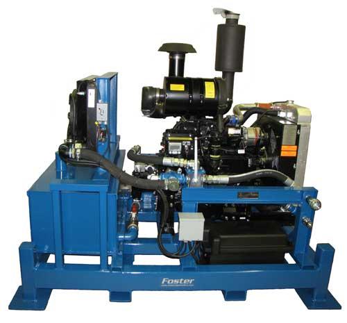 Diesel Hydraulic Power Units 156 Horse Power John Deerejohn Deere